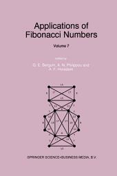 Applications of Fibonacci Numbers: Volume 7