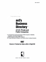 Ward s Business Directory 1997 PDF