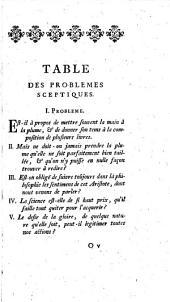 Oeuvres de François de La Mothe Le Vayer: ptie 1. De la vertu des payens; ptie 2. Discours pour montrer que les doutes de la philosophie sceptique sont de grand usage dans les sciences