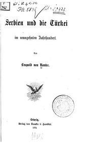 Serbien und die Türkei im neunzehnten Jahrhundert