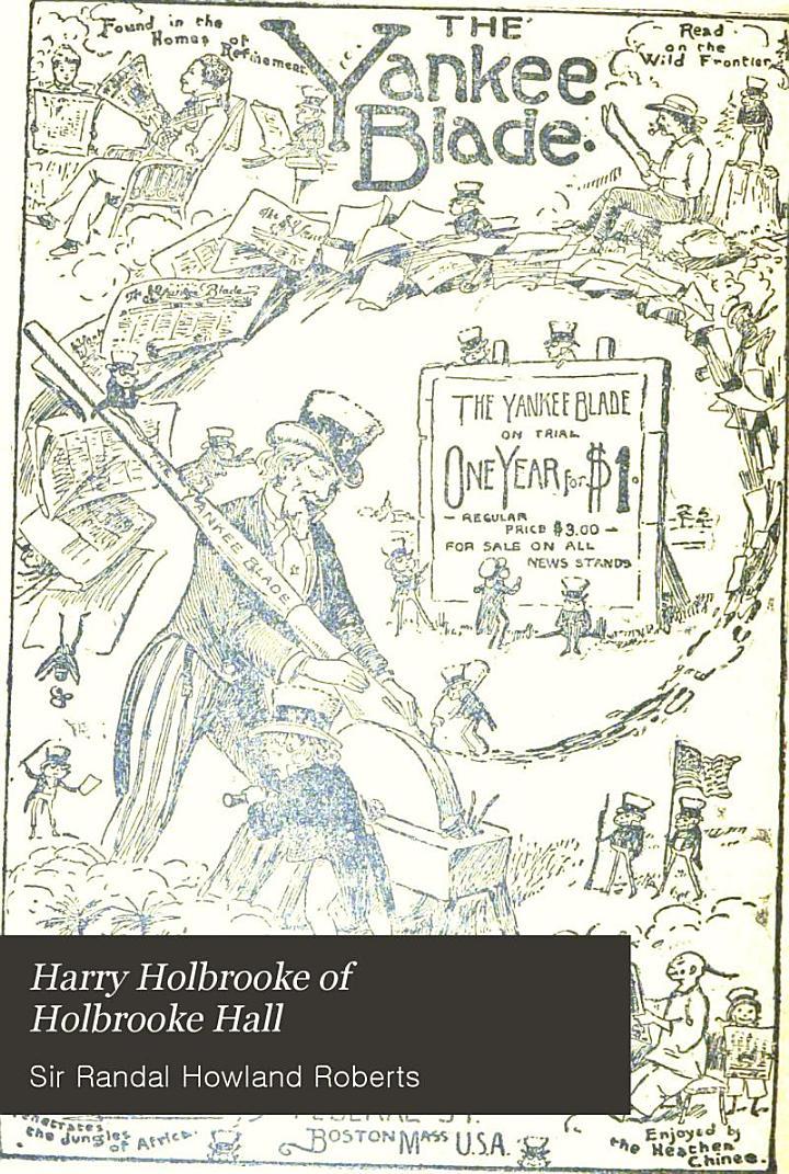 Harry Holbrooke of Holbrooke Hall