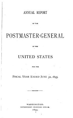 Annual Report of the Postmaster General PDF