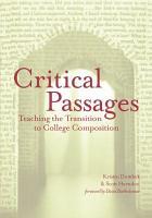 Critical Passages PDF