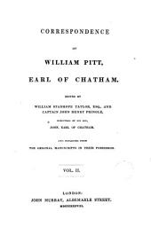 Correspondence of ... Earl of Chatham ..., 2: Published from the Original Manuscripts ...
