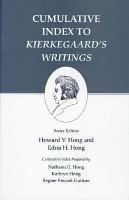 Cumulative Index to Kierkegaard s Writings PDF