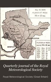 Quarterly Journal of the Royal Meteorological Society: Volume 21