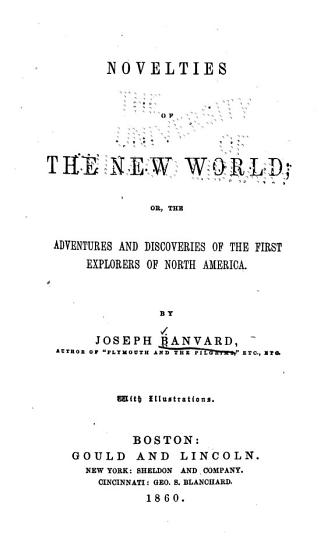 Novelties of the New World PDF