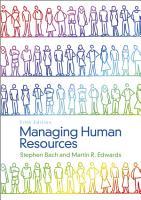 Managing Human Resources PDF
