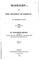 Magdalen  Or  The Penitent of Godstow PDF