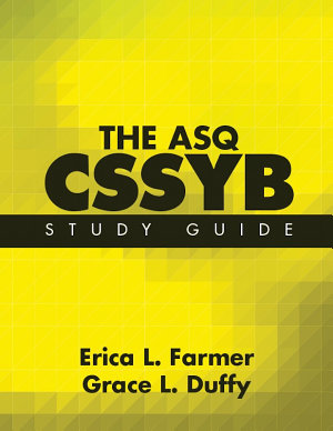 The Asq Cssyb Study Guide