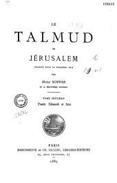 Le Talmud de Jérusalem: Volume7