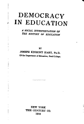 Democracy in Education: A Social Interpretation of the History of Education