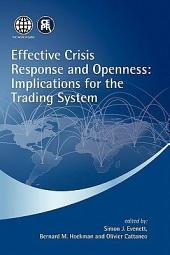 Effective Crisis Response and Openness: Implications for the Trading System