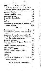 Journal littéraire de Lausanne: ouvrage périodique, Volume8