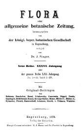 Flora: oder, Allgemeine botanische Zeitung, Band 61