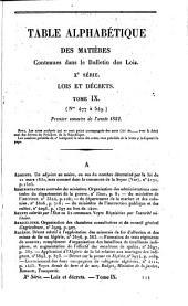 Bulletin des lois de la Republique Francaise: Volume10;Volumes1851à1853;Volume1859