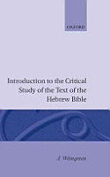 Introduction to the Critical Study of the Text of the Hebrew Bible PDF