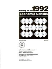 History of the 1987 economic censuses