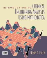 Introduction to Chemical Engineering Analysis Using Mathematica PDF