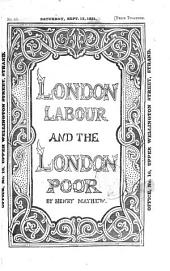 London labour and the London poor: a cyclopaedia of the condition and earnings of those that will work, those that cannot work and those that will not work, Volume 2