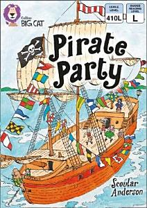 Collins Big Cat     Pirate Party  Band 09 Gold Book