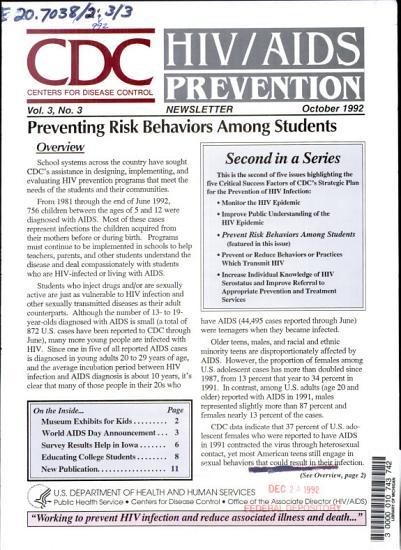 HIV AIDS Prevention Newsletter PDF