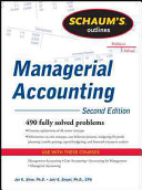 Schaum s Outline of Managerial Accounting  2nd Edition PDF