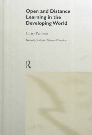 Open and Distance Learning in the Developing World PDF