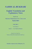 Sahih al Bukhari  English Translation and Explanatory Notes  Volume 1 PDF