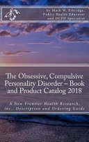 The Obsessive  Compulsive Personality Disorder   Book and Product Catalog 2018