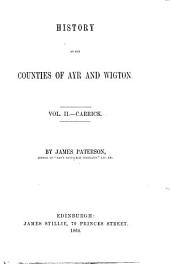 History of the Counties of Ayr and Wigton: Carrick
