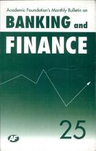 Academic Foundation S Bulletin On Banking And Finance Volume  25 PDF