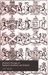 Debrett's Peerage of England, Scotland, and Ireland