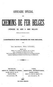 Annuaire spécial des chemins de fer belges