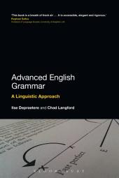 Advanced English Grammar: A Linguistic Approach