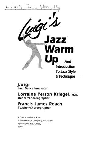 Luigi's Jazz Warm Up