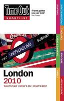 Time Out Shortlist London 2010 PDF