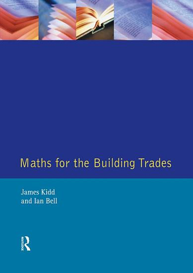 Maths for the Building Trades PDF