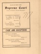 Supreme Court Appellate Division 4th Dept. Vol. 1512