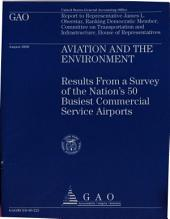 Aviation and the Environment: Results from a Survey of the Nation's 50 Busiest Commercial Service Airports