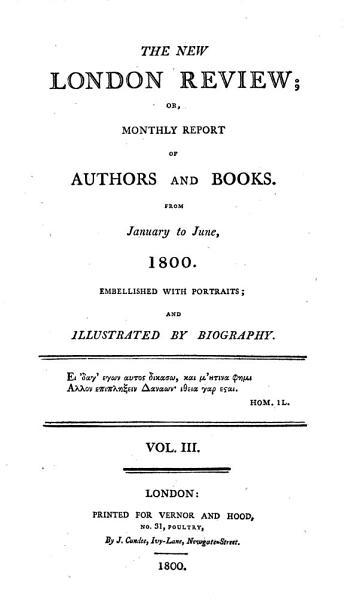 Download London Review  and Biographia Literaria Book