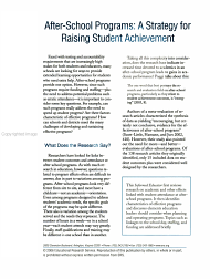 After school Programs PDF