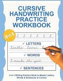 Cursive Handwriting Practice Workbook PDF