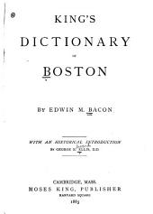 King's Dictionary of Boston