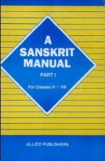 A Sanskrit Manual for High Schools