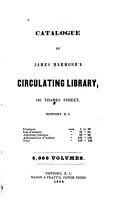 Catalogue of James Hammond s Circulating Library  Newport  R I  PDF