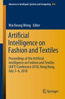Artificial Intelligence on Fashion and Textiles PDF