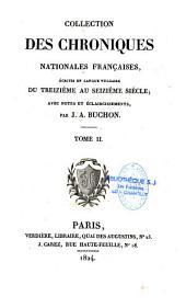 Chroniques de Froissart...