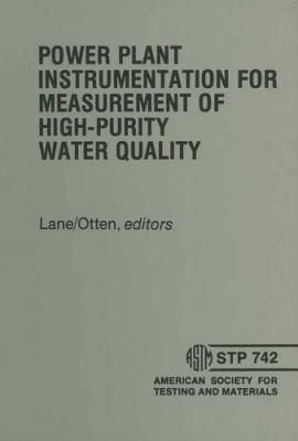 Power Plant Instrumentation for Measurement of High Purity Water Quality PDF
