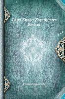 Thus Spake Zarathustra Revised PDF